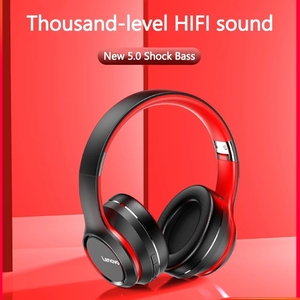 Image 3 - Lenovo hd200 bluetooth sem fio estéreo fone de ouvido bt5.0 longa vida de espera com cancelamento ruído para xiaomi iphone lenovo fone de ouvido
