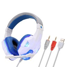 Computer headset for PS4 game luminescence Headphones PC lum