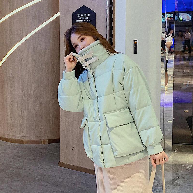 Winter Jacket Women   Parka   Loose Warm Down Cotton Coat Female Outerwear Thick Long Sleeve Oversize Winter Women Coat Padded Q1938