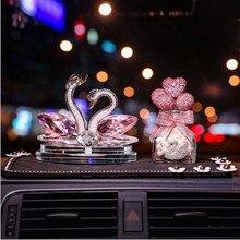 Regalo di Giorno di san valentino Cigno creativo auto sede del profumo 2020 nuovo accessori auto ornamenti profumo di casa titolare