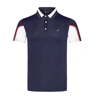 Mężczyźni z krótkim rękawem T-shirt do golfa 4 kolory sport Golf odzież S-XXL w wyborze rozrywka koszulka golfowa tanie i dobre opinie HQBWill COTTON SILK Poliester Mikrofibra spandex Anty-pilling Anti-shrink Przeciwzmarszczkowy Oddychające Szybkie suche