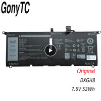 GONYTC DXGH8 Original New Replacement Laptop Battery For DELL XPS13 9370 9380 7390 DXGH8 7.6V 52Wh