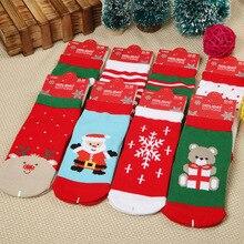 2019 New Winter Kawaii Baby Christmas Socks Kids Cute Shirt for  Funny Children
