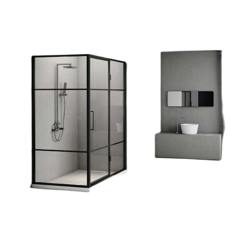 Customized shower room, domestic shower room, partition glass door, bathroom, dry and wet separation bath screen-0
