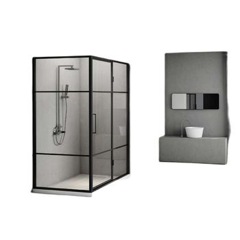 Customized shower room, domestic shower room, partition glass door, bathroom, dry and wet separation bath screen