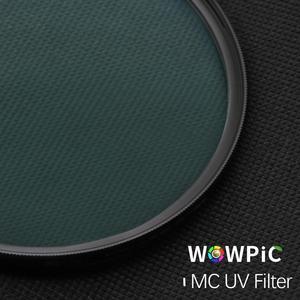 Image 3 - Filtro UV MC WOWPIC de 95mm, superfino, verde, Muticoating, 16 capas, Protector de lente, 95mm, filtro de cámara para cámara Canon, Nikon, DSLR