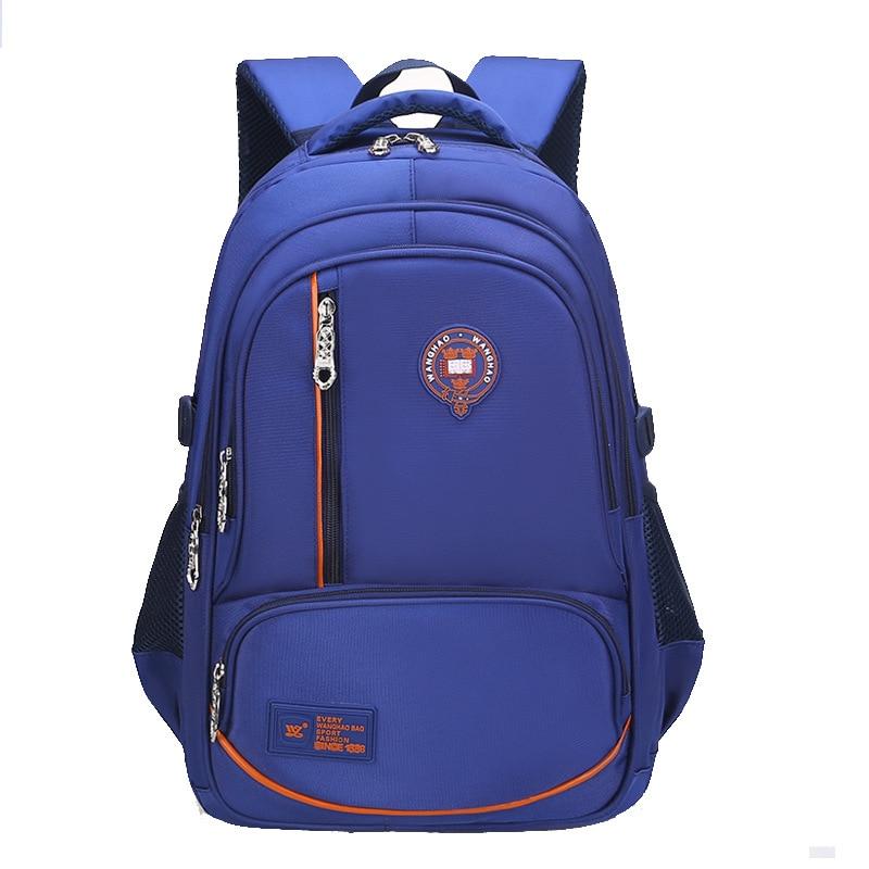 Schoolbag For Elementary School Students Men And Women Multi-functional Backpack Spine-Burden Relieving Korean-style CHILDREN'S