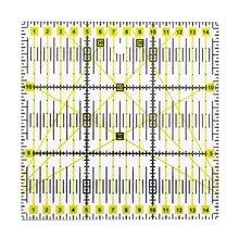 Acryl 15*15 herrscher Patchwork lineal plexiglas skala lineal Gedruckt farbe herrscher