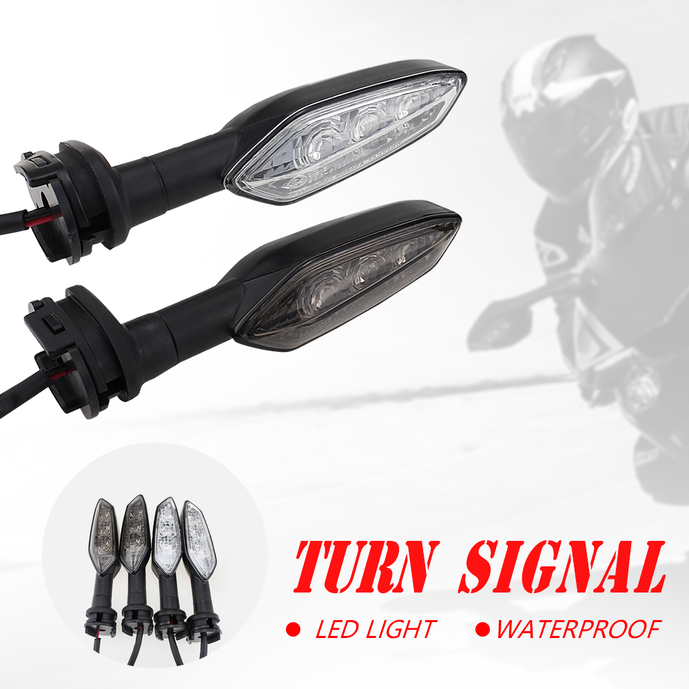Turn Signals Indicators Motorcycle Front LED Turn Signal Indicator Light Blinker Lamp for BMW R1200GS ADV 2014-2017