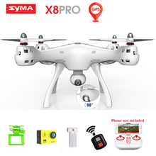 Syma RC Gps Drone With Camera 720p Hd Wifi Fpv Six Axis Real-time Transmission Mobile App Control Rc Quadcopter Drones X8 Pro rc drone syma x5sw fpv rc quadcopter drone with camera 2 4g 6 axis rc helicopter drones with camera hd vs jjrc h31 h33