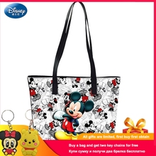 Disney 2019 Mickey Mouse Handbags Shoulder Cartoon Lady Tote Large Capacity Bag Women Waterproof Fashion Travel Shopping