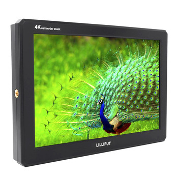 LILLIPUT A8 A8S 8.9 ultra delgado IPS Full HD 1920 * 1200 4K HDMI 3G-SDI 3D-LUT monitor de campo de video en cámara para cámara digital DSLR