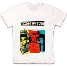 Para baixo pela lei filme 80s prisão tom espera retro vintage hipster unisex t camisa 1489 nova unisex engraçado topos camiseta