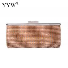 Silver Dress Rhinestone Crystal Clutch Evening Bag Women Clutch Purse For Cocktail Prom Party Pochette Femme Rhinestone Sac pochette femme silver evening bags and clutches for women crystal clutch beaded rhinestone purse wedding party handbag
