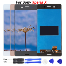 For Sony Xperia X Screen LCD Display F5121 F5122 LCD Display Touch Screen Digitizer For Sony Xperia X LCD with free Tools цена в Москве и Питере
