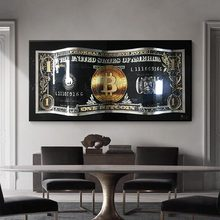 Monopoly Dollar Art Canvas Poster And Prints Creative Money 100 Dollars Picture Wall Decor Painting For Liviung Room