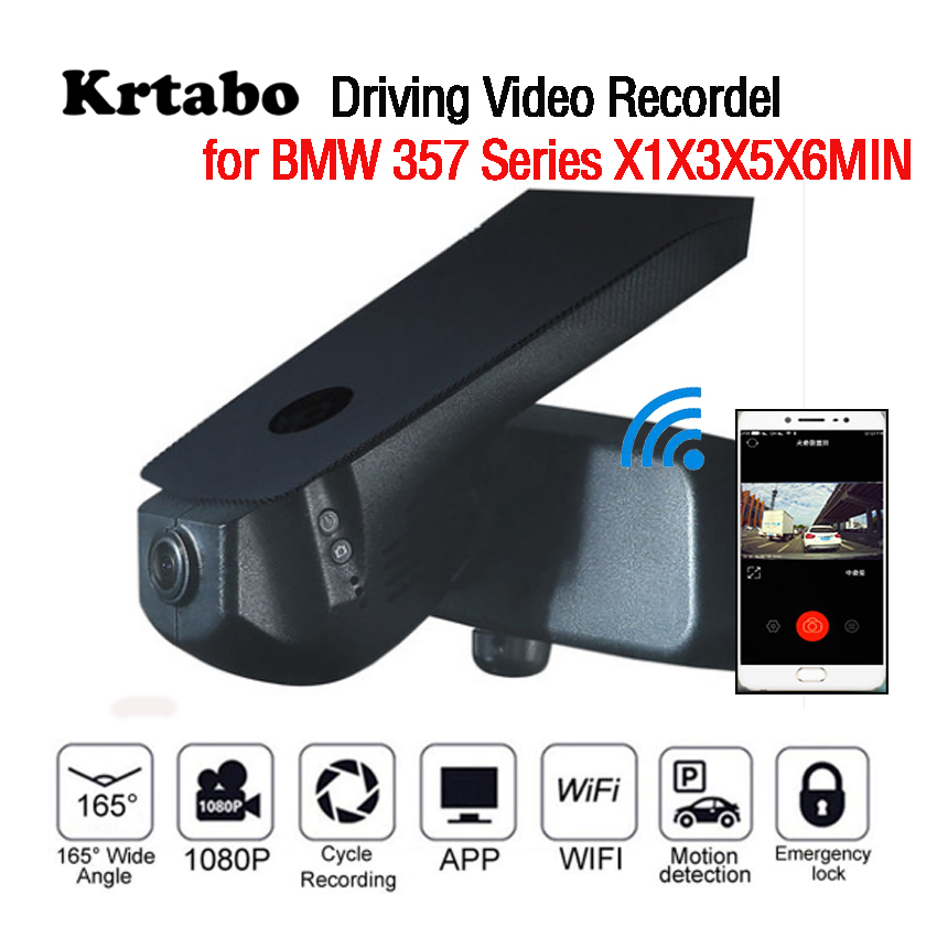 Car DVR Wifi Video Recorder Dash Cam Camera for BMW X3 2014 2015 2016 high quality Night