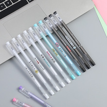 Creative transparent gel pen cute cartoon stationery with painted water-based sign
