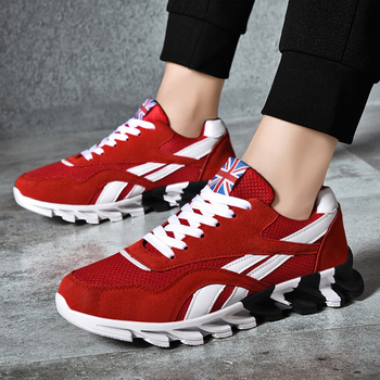 2020 New Men Light Running Shoes High Quality Outdoor Sports Athletic Shoes for Men Sneakers Breathable Outdoor Sports Shoes Men original new arrival official adidas climacool kurobe men s aqua shoes breathable outdoor sports sneakers
