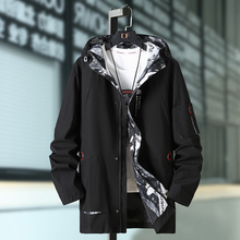 New Arrival Fashion Suepr Large Men Loose Casual Windbreaker Mens Jackets And Coats Plsu Size 3XL 4XL 5XL 6XL 7XL 8XL 9XL 10XL plus size 10xl 8xl 6xl 5xl 2018 new arrival leather jackets men outwear solid casual men s coats autumn