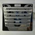 Декоративный металлический бампер Впускной Капот Передняя решетка для 1/14 Tamiya Scania R730 RC грузовик тягач модификация запчасти
