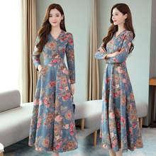 Женское платье с цветами шелковое молочного цвета женское осеннее