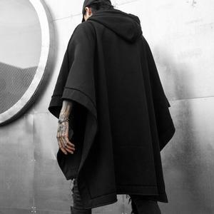 Image 3 - Pull à capuche punk, style gothique, vintage, streetwear, style punk, hip hop, style noir, collection sweatshirt à capuche long, automne hiver