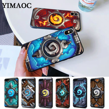 Hearthstone classic Silicone Case for iPhone 5 5S 6 6S Plus 7 8 11 Pro X XS Max XR