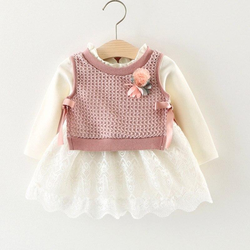 Melario Baby Girl Dress Spring Baby Girl Princess Clothes Cute Girls Long Sleeve T shirt Tops