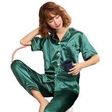 Пижамы размера плюс пижамные штаны костюм из искусственного