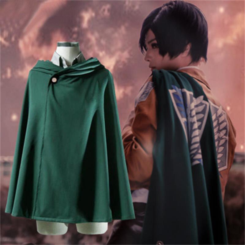 Модная аниме масонская фантазия атаки гигантская куртка пальто для косплея легиона
