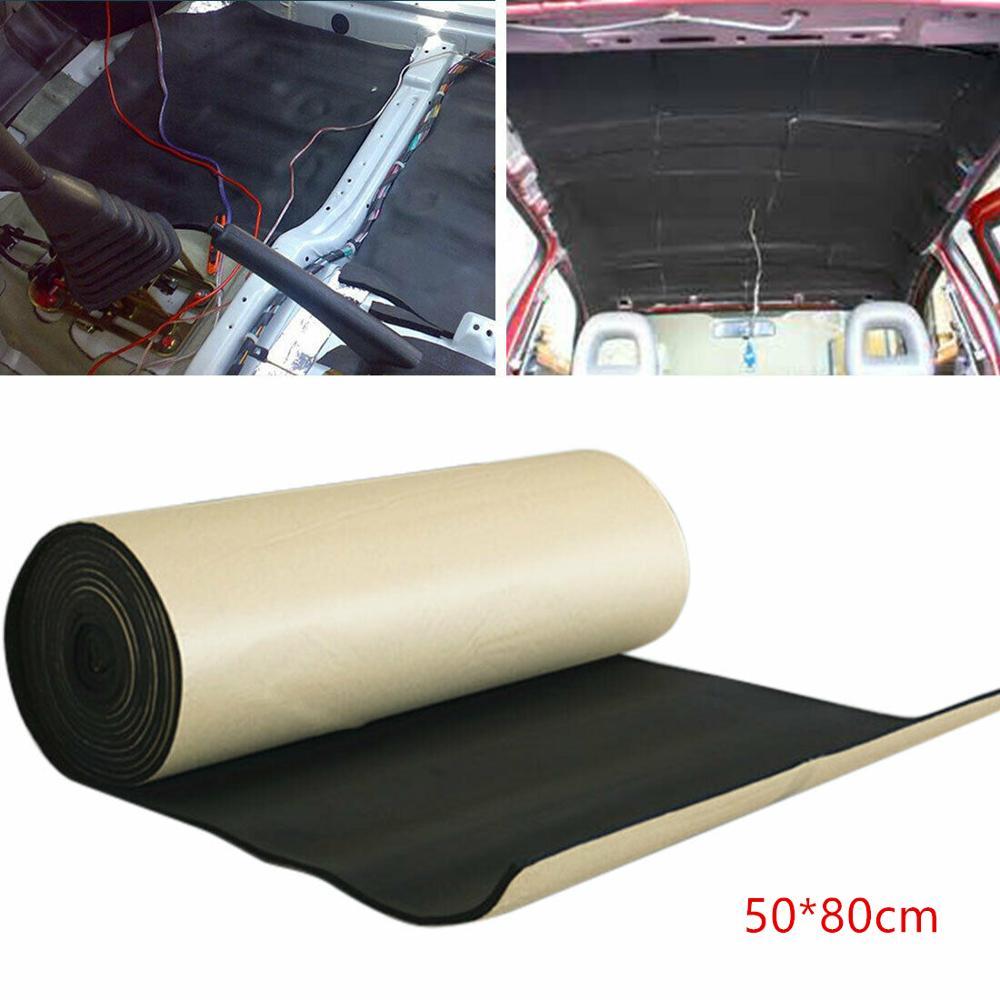 6mm Áudio Do Carro De Som Isolamento à prova de Som-Almofada de Amortecimento de Ruído 50*80cm Alta Redução de Ruído Térmico mat isolamento
