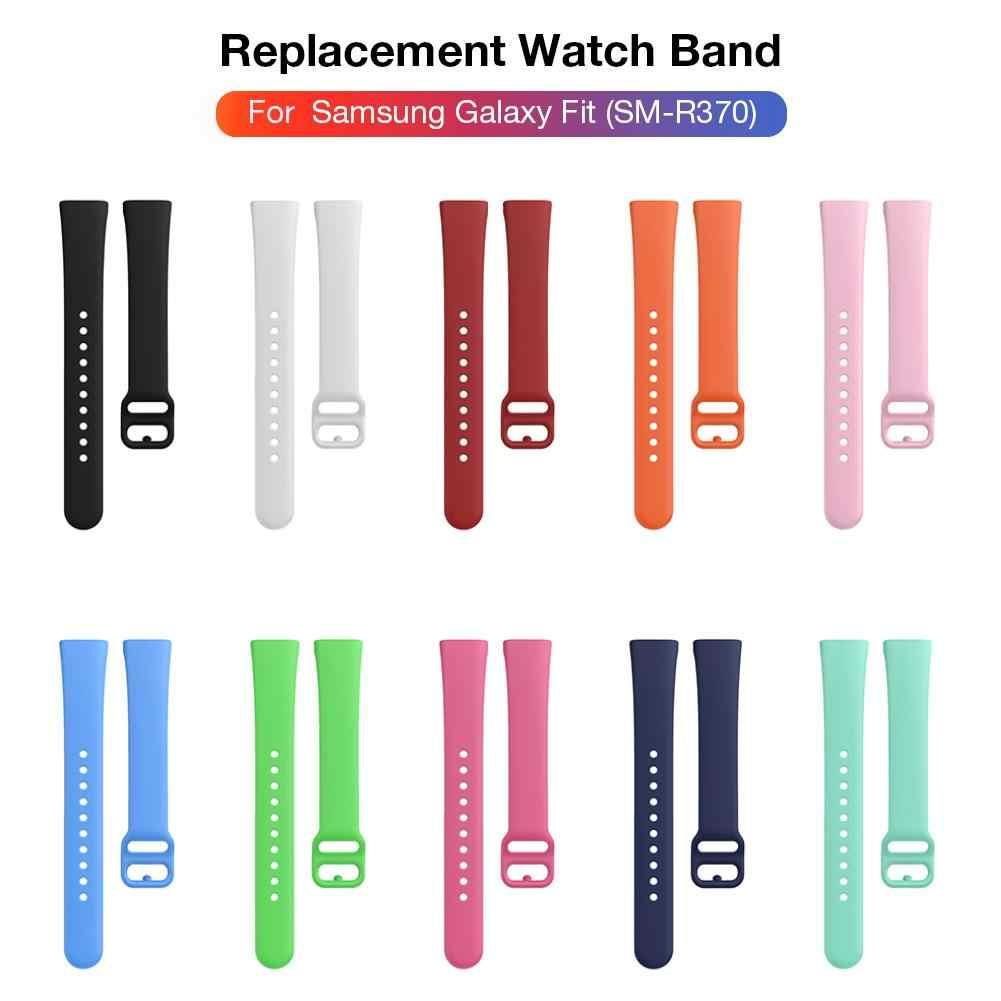 2019 di Alta Qualità Slicone Braccialetto Loopback La Cinghia Per Samsung Galaxy Fit SM-R370 Multicolore Del Silicone Watch Band Cinturini