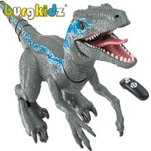 2.4Ghz RC Dinosaur Toys Raptor Remote Control Big Dinosaur Robot Electronic Walking Animals Dinosaurio Grandes Toys For Children