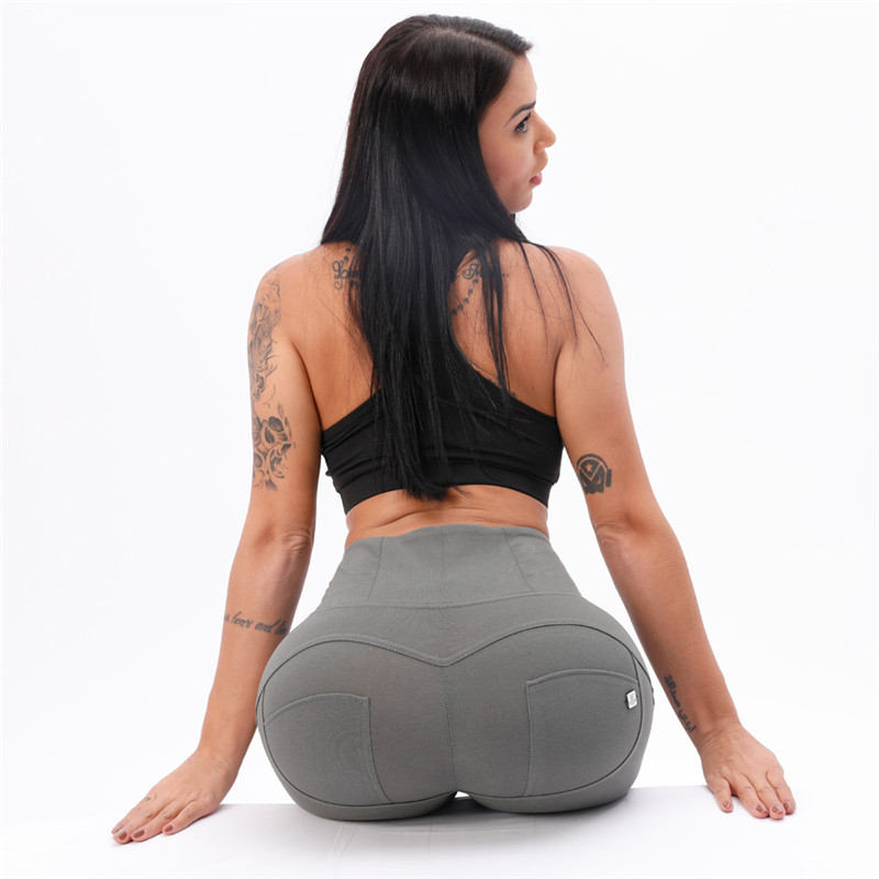 Four Ways Stretchable Melody Sport Leggings High Waist Tights  High Waisted Workout Leggings Olive Green Leggings Sale Best Yoga