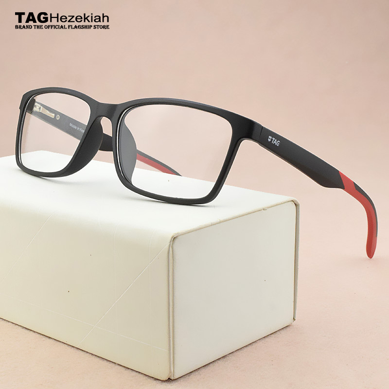 TAG Brand Square glasses frame women TR90 new computer prescription myopia spectacle frames optical glasses frame men eyeglasses