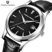 PAGANI DESIGN Top Brand Men Mechanical Watch Waterproof Leat