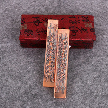 Paperweight Portable Brass Paperweights High Grade Chinese Creative Calligraphy Pen Painting Paper Weight Pisa Papeles Metal