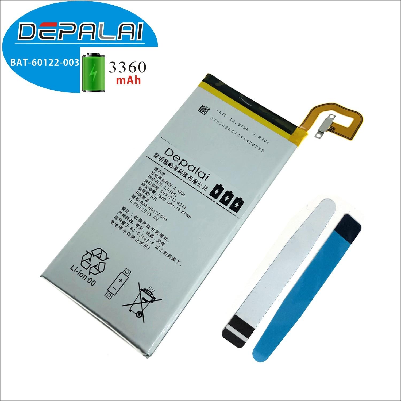 High Quality For BlackBerry Priv Mobile phone battery 3360mAh BAT-60122-003 BlackBerry(China)