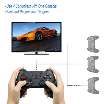Wireless Bluetooth Gamepad For Nintendo Switch Pro NS-Switch Pro Game joystick Controller For Switch Console with 6-Axis Handle 2
