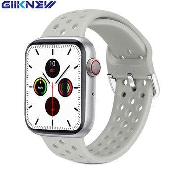 GIIKNEW IWO W16 Smart Watch 2020 iwo W26 Lite Version Smartwatch Heart Rate Blood Pressure Smart Watch Men/Women for Android IOS 1