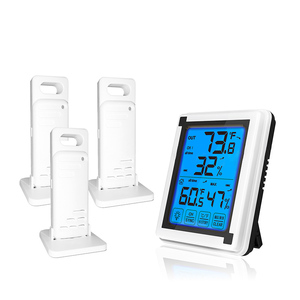 Thermometer Hygrometer LCD Lar