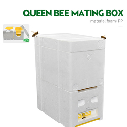 Brand Double Layer More Closed Equipment Queen Bee Mating Box Suitable For Bee Mating Copulation Queen Reserve Beekeeping Tool