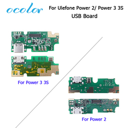 ocolor for Ulefone Power 3 3S Power 2 USB Board 100% New usb plug charge board Accessories for Power 3 3S Mobile Phone
