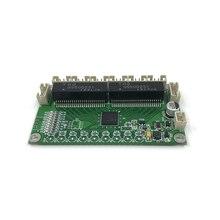 ANDDEAR по индивидуальному заказу Промышленные 8 портов 10/100 м коммутатор сетевой коммутатор ethernet 12v модуль pcba сетевой коммутатор