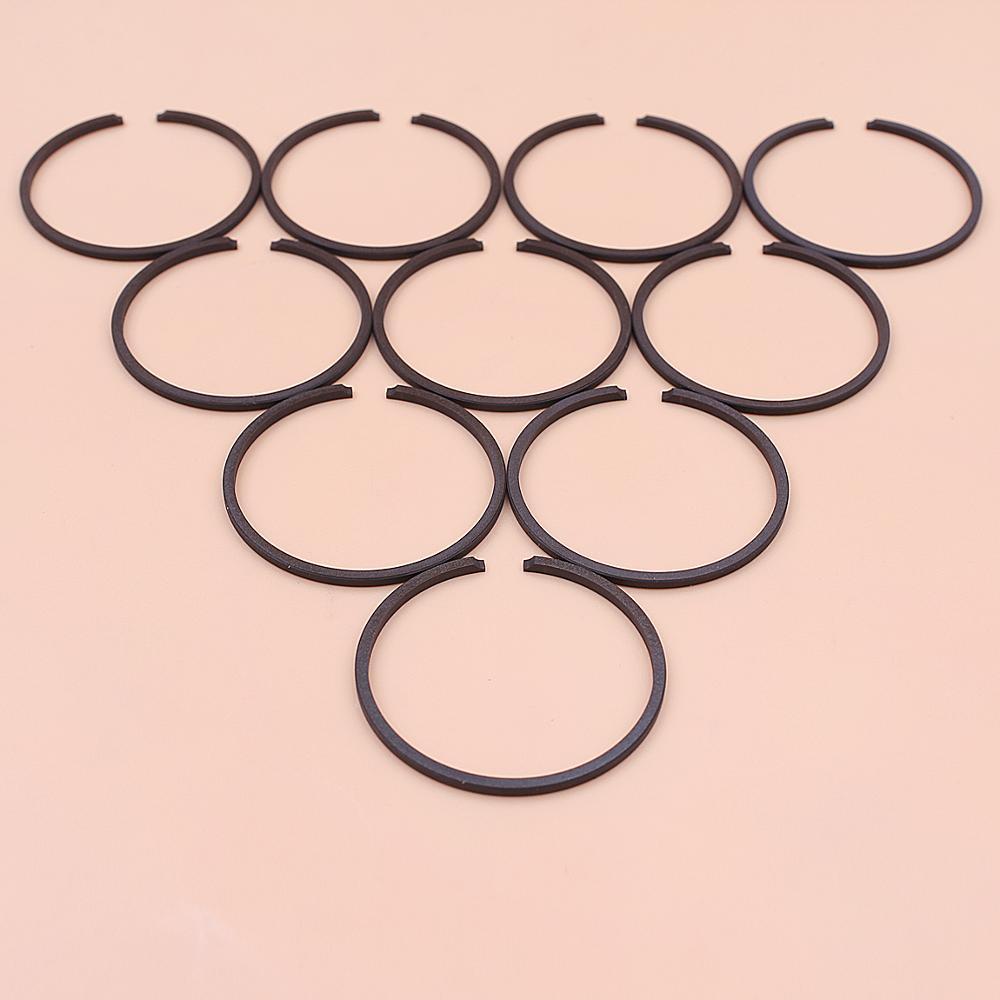 10pcs/lot 32mm X 1.5mm Piston Ring Set For Stihl FS 80 AVE, FS 80 RE, FS 80 AVRE, FS 81 String Trimmer 4112 034 3000