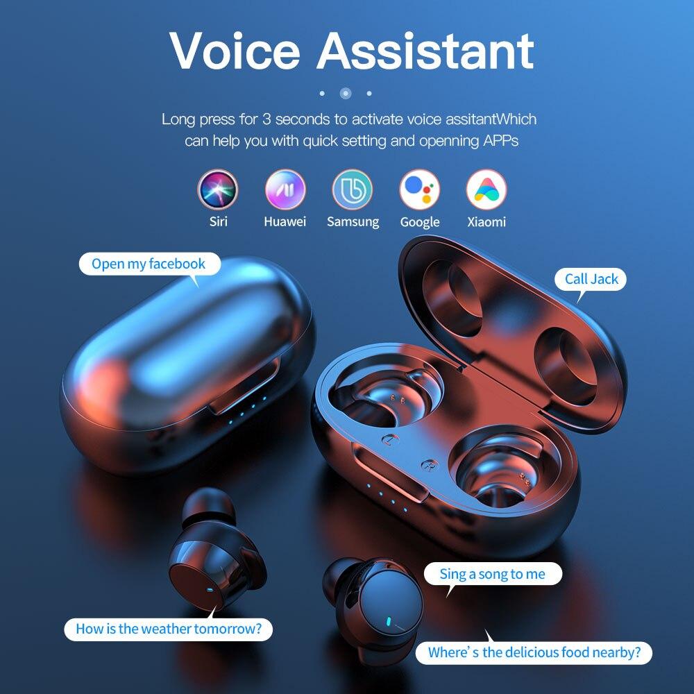 cheapest True Wireless Earbuds Nillkin Wireless earphone with Mic CVC Noise Cancelling headphones Bluetooth 5 0 headset IPX5 Water Proof
