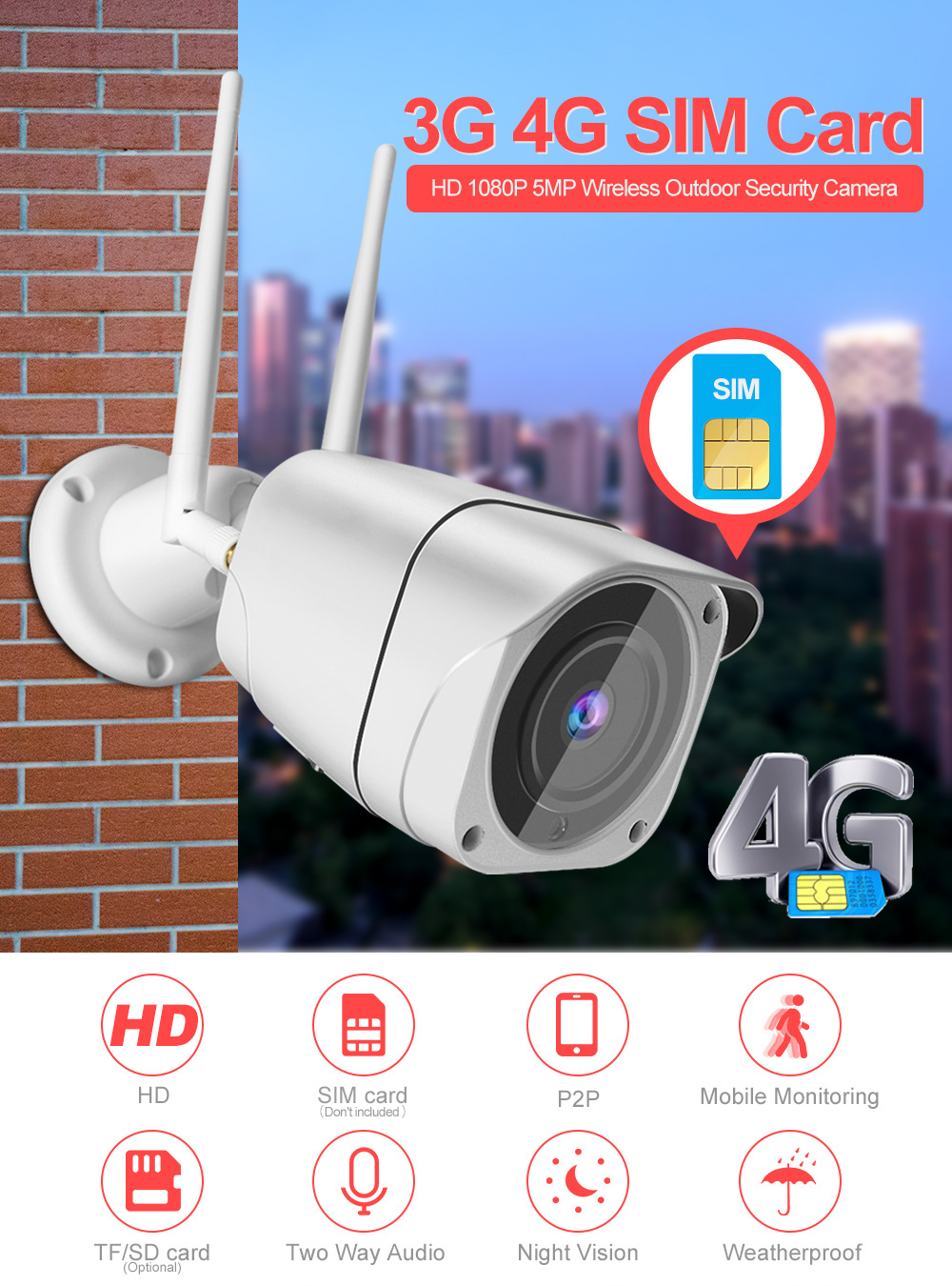 01 Sim 4g Camera