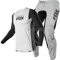 Vendita calda grigio MX ATV UTV 360 Dirt Bike Jersey pantaloni Combo moto MTB BMX Bike Racing Suit Mountain Bike Offroad kit