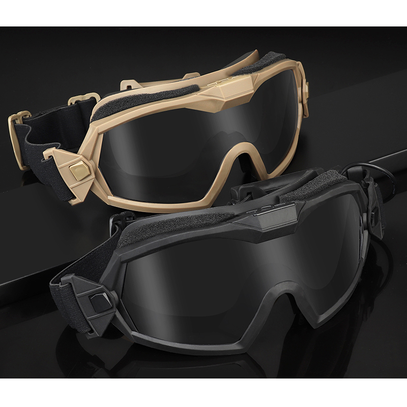 Antifog Regulator Goggles With Fan Updated Version Tactical Airsoft Paintball Safety Eye Protection Glasses Eyewear